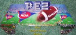 NCAA College Football Floor Shipper Header Card