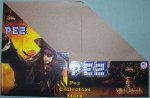 Pirates of the Caribbean Pez Counter Display 12 ct Box