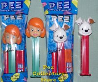 Buster and Darby Pez from 2008 Winnie the Pooh MIP!