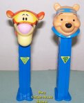 Winnie the Pooh and Tigger Detective Pez