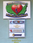 2009 KC PezHead Gathering Candy Pack Set