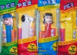 Peanuts Pez Series 1 set of 4 MIB