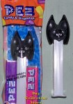Black Bat Pez with Glow in the Dark Stem new for 2009 MIB