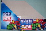 Marvel Universe SuperHero Pez Counter Display 12 count Box