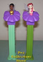 2009 European Disney Fairies Rosetta and Iridessa Pez