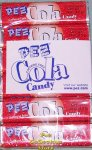 1 package of 6 rolls of Cola Flavor Pez Candy Refills