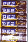 1 package of 6 rolls of Chocolate Flavor Pez Candy Refills