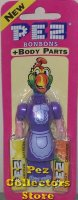 Purple Dress Maid Pez Body Parts MOC from Series 1