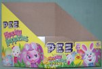 Easter Hippity Hoppities 2010 Pez Counter Display 12 count Box