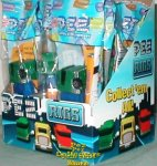 Set of 10 Blue and Green Pez RIGS Truck Party Favor Pack