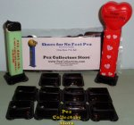 10 Wide Black PCS Shoes for Pez - One Size Fits All