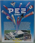 1980s Pez Merchandise Brochure With shooting Pez and Candies