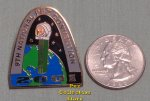 2001 St. Louis 9th ANPC Astronaut Pez Lapel Pin