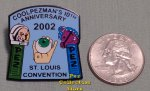2002 St. Louis 10th ANPC Anniversary Pez Lapel Pin