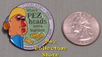 2003 Pezamania 13 Pez Make a Face White Border Lapel Pin