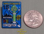 2007 St. Louis 15th ANPC Creature Pez Blue Lapel Pin