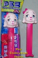 Baby Shower Lamb D Pez Pink Stem MIB