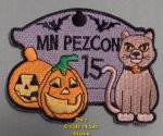 2010 MN Pez Con 15 Halloween Patch