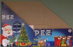 Christmas 2012 Pez Counter Display 12 count Box