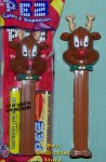 2012 Christmas Pez New Red Nosed Reindeer with 2 dots MIB