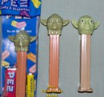 Revised 2012 Yoda Phantom Menace Star Wars Pez MIB