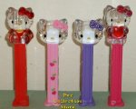 2013 Euro Crystal Hello Kitty Pez Full Body, Polka-Dot, Printed