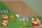 2014 Christmas Stocking Pez Counter Display 12 count Box