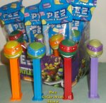 2014 Teenage Mutant Ninja Turtles series 3 Pez MIB
