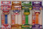 Hanna Barbera Dick, Ricochet, Wally and Atom POP!+PEZ Bundle