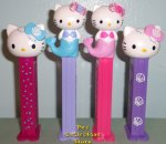 2019 Euro Hello Kitty Mermaids and Shells Pez Set