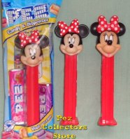 2020 Minnie Mouse Polkadot Red Bow Pez MIB