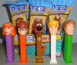 2020 Revised Scooby Doo Velma Fred Daphne and Shaggy Pez MIB