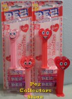 2021 Valentine Pez Heart Silly and Happy Lighter Variations MOC
