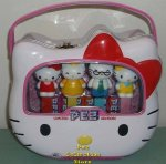40th Anniversary Hello Kitty Pez Tin with Mama, Papa, Mimi