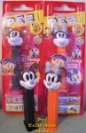 80th Anniversary Crystal Mickey and Minnie Ltd. Ed PEZ Pair