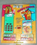 Aqua Green Electronic Pez Telephone With Phone Registry