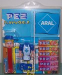 Aral Gas Pez Play World with Yellow Hair Pez Pal MOC