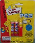 Retired Bart Simpson Pez Keychain MOC