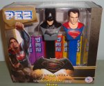 Batman v. Superman Pez Twin Pack Boxed Set