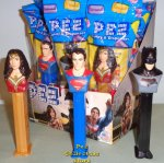 Batman, Superman and Wonder Woman Dawn of Justice Pez Set MIB