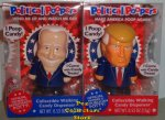 Biden and Trump Political Pooper Wind Up Walking Candy Dispenser