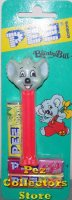 Blinky Bill 1997 Kooky Zoo Pez release Mint on Blinky Card