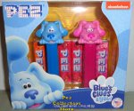Blues Clues Blue and Magenta Pez Twin Pack