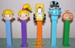 Bob the Builder Pez Set of 5 Loose Pez!