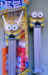 Bob Smiling Two Eye Minion from the Rise of Gru Pez MIB