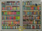 Bonus Pack 2 x Covered 6 Shelf Pez Wall Display- 2nd Ships FREE