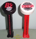 30th Year B'z Scenes Exhibition Pez Black and Red Stems Loose