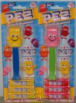 Yellow and Pink Candy Brick Mascot Pez Pair MOC