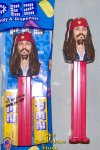Captain Jack Sparrow Pirates of the Caribbean Pez MIB