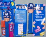 Captain America Marvel Superhero Pez 2011 Release MIB